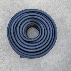 Asphalt cloth wire loom 1/2 inch