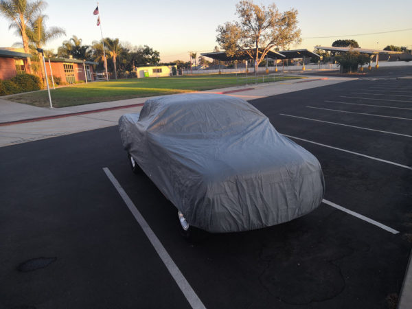 car cover front
