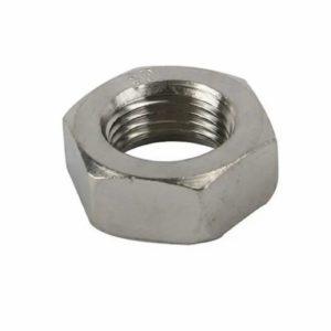 Jam nut steel 11/16 inch-18 RH